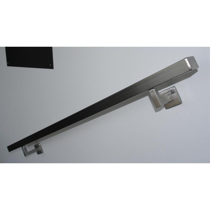 edelstahlhandlauf rechteckig v2a 50 x 30 korn 240 geschliffen bis 300. Black Bedroom Furniture Sets. Home Design Ideas