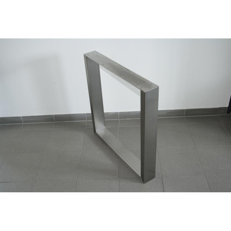 Rapa hortus 8041 tischgestell edelstahl v2a 70 x 70 cm for Stuhl edelstahl