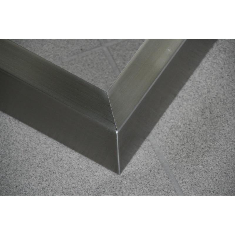 design cadre de tableau inox base de table chemin de table tra. Black Bedroom Furniture Sets. Home Design Ideas
