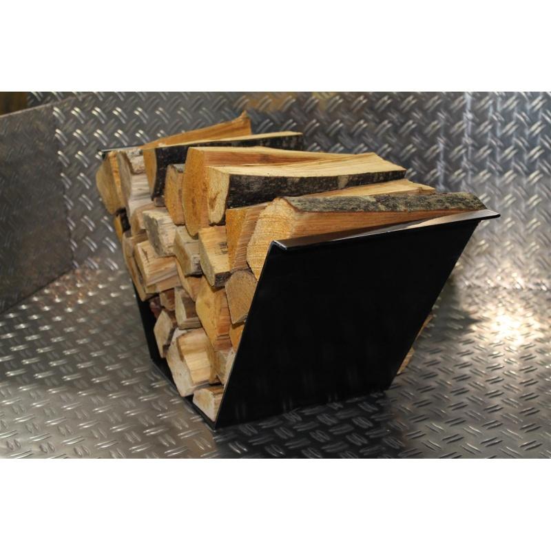 bois de chemin e bol panier pour chemin e bois berceau en bois suppor 59 95. Black Bedroom Furniture Sets. Home Design Ideas