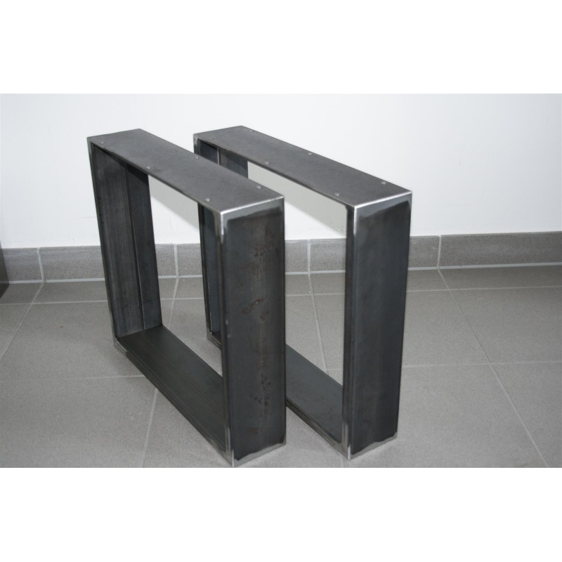 rapa mensalis industriedesign bankgestell schwarz rohstahl. Black Bedroom Furniture Sets. Home Design Ideas
