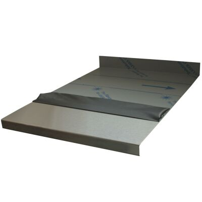 Edelstahlarbeitsplatte | Stahlprodukte bei schmiedekult, 72,82 £