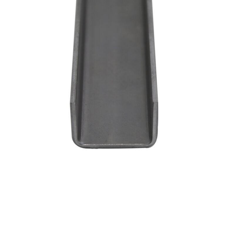 Stahl U-Profil gekantet Kantenschutz Eckschutz Abdeckprofil 1,5 15 x 15 20